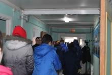 Организованный выход в зону эвакуации
